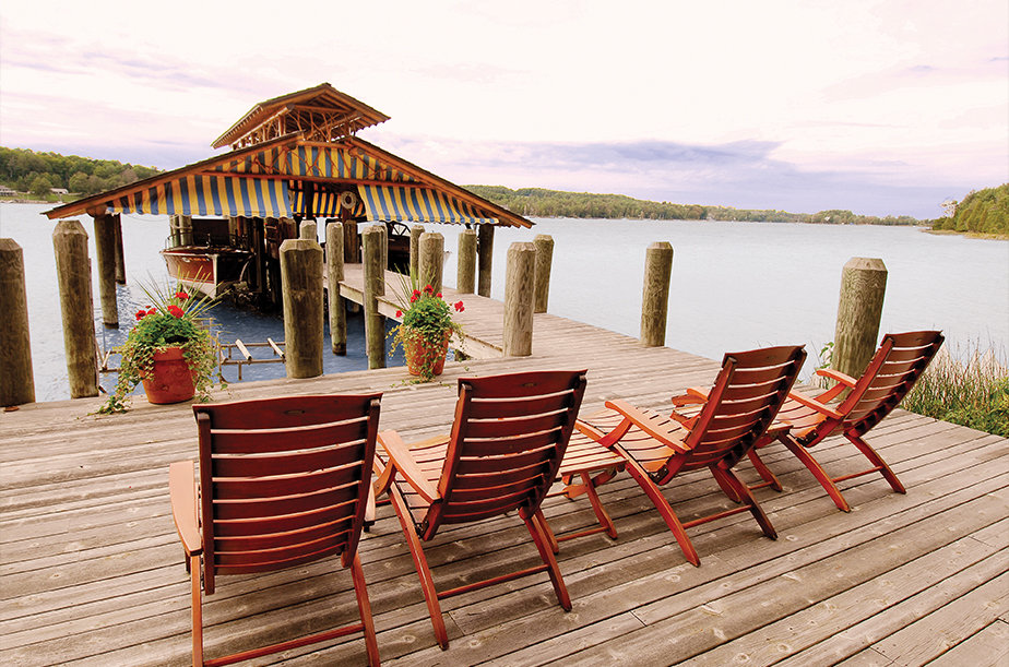 Notable Waterfront Log Homes for Sale in Michigan